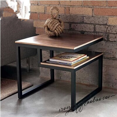 Iron wood to do the old living room sofa table coffee table desk phone desk corner a few nightstands(China (Mainland))