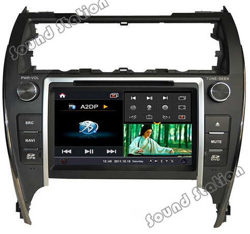 For Toyota Camry Touch Screen Auto Car Spare Parts DVD Radio GPS Navigation Sat Navi Multimedia System Head Unit (USA Version)(China (Mainland))