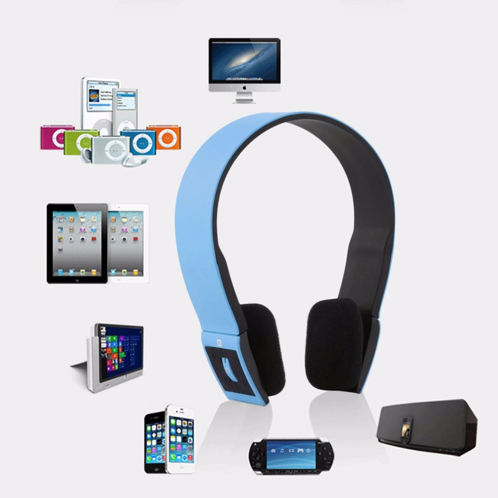 Wireless Bluetooth Headphones Portable Sports Stereo Headset Headphone Wiht Mic for iPhone Mobile Phones Samsung Android iOS