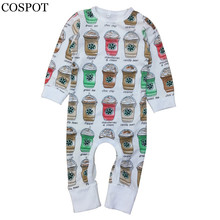 COSPOT New 2017 Baby Girls Cute Rompers Infant Boys Cotton Clothing Sets New Born Jumpsuits F29(China (Mainland))