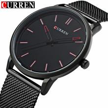 Buy CURREN Watch Men Casual Sport Clock Mens Watches Top Brand Luxury Full Black Steel Quartz Watch Male Gifts Relogio Masculino for $13.99 in AliExpress store