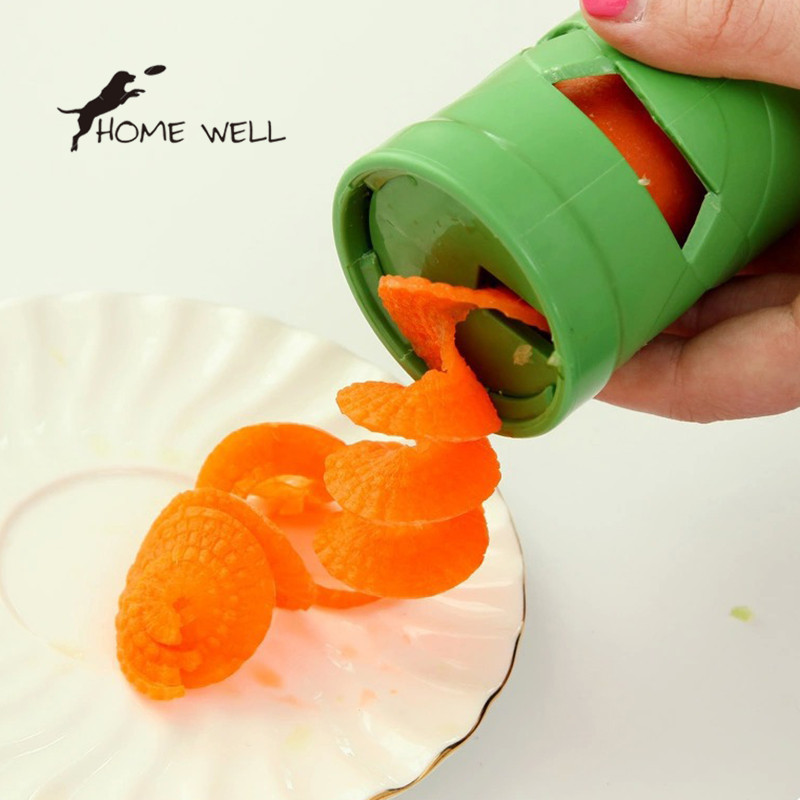 Practical Multi Function Kitchen Tools Gadgets Helper Vegetable Fruit Spiral Shred Process Device Cutter Slicer Cozinha(China (Mainland))