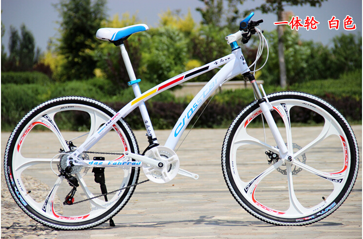 "21Speed 26"" Downhill Mountain or Road Bike complete Double Brake Shocking Proof Mountain Bicycle Bike(China (Mainland))"