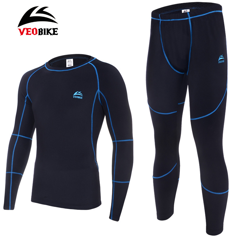 Men's Thermal Underwear Men Quick Dry ANTI-MICROBIAL Leisure Camping