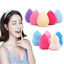 1 PCS Random Color Makeup Foundation Sponge Blender Blending Puff Flawless Powder Smooth Beauty Cosmetic