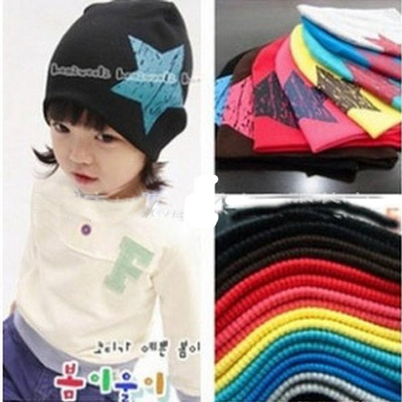 Fashion lovely new spring baby hats children skullies beanies scarf hat set baby boys girls knitted kids hats caps(China (Mainland))