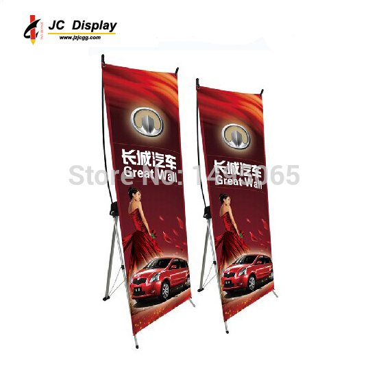 3 pcs/lot 2015 New X Banner Stand 60*160 cm Korean tripod Advertising display Trade Show Exhibition Stand Graphic NOT Included(China (Mainland))