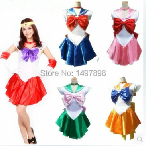 Plus Size Sailor Moon Cosplay Free pp Plus Size S-2xl Sailor