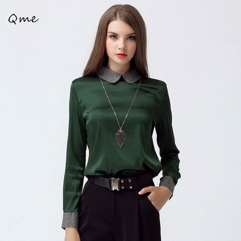 Peter pan blouse women 39 s shirts lace henley blouse for White cotton shirt peter pan collar