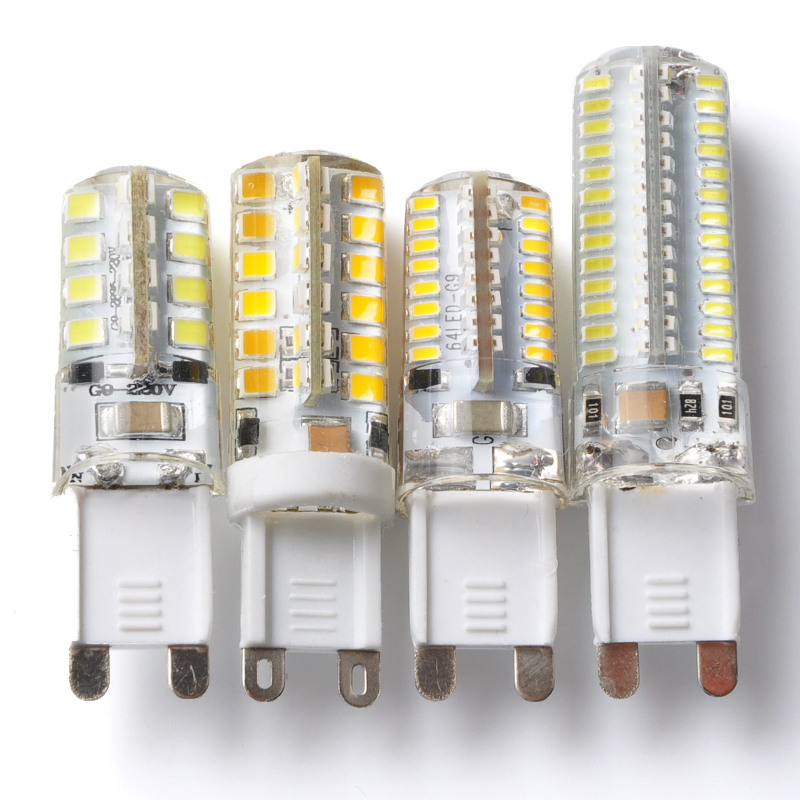 G9 LED 220V 4W 6W 7W 9W 10W SMD3014 2835 bombillas led G9 Lamp Replace halogen lamp 360 Beam Angle Lamps warranty light luz led(China (Mainland))