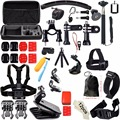 Kit set for Gopro Hero 5 Go Pro Accessories SJCAM SJ4000 Camera Chest Head Mount Strap