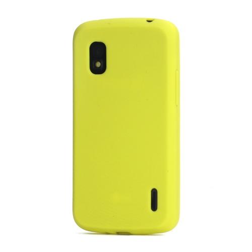 for LG Nexus 4 Flexible Silicone Skin Case Cover for LG E960 Mako Google Nexus 4(China (Mainland))