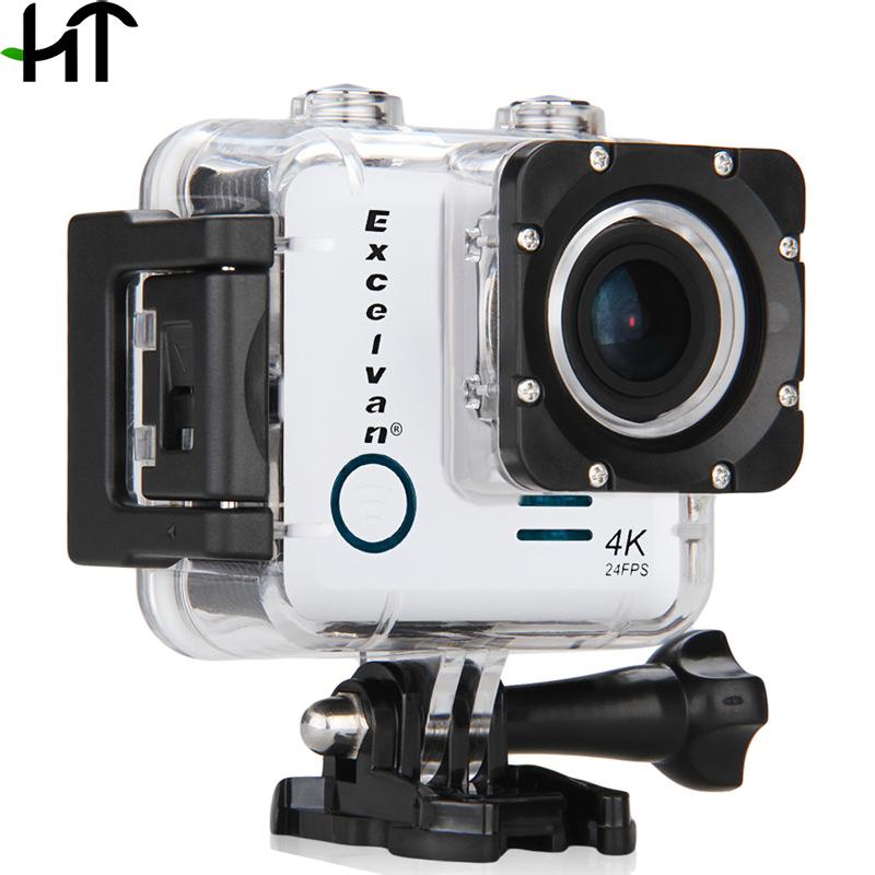 2016 Новый Excelvan Действий Камеры Wi-Fi Ultra-HD 4 К 16MP 170 Водонепроницаемый Новатэк 96660 Действий Dv Камеры