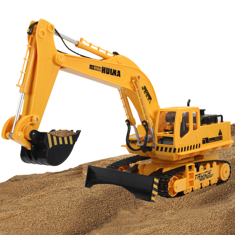 Electric remote wireless excavators,remote control excavator toy car,Children's remote control truck toys(China (Mainland))