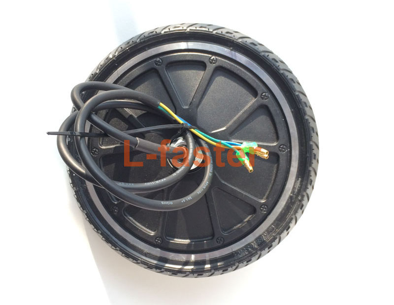 """36V 250W 8 Inch Ultrathin Hub Motor With Tyre Width 45mm Only 8"""" E-Scooter Gearless Motor DIY Electric Kickscooter Motor Wheel(China (Mainland))"""