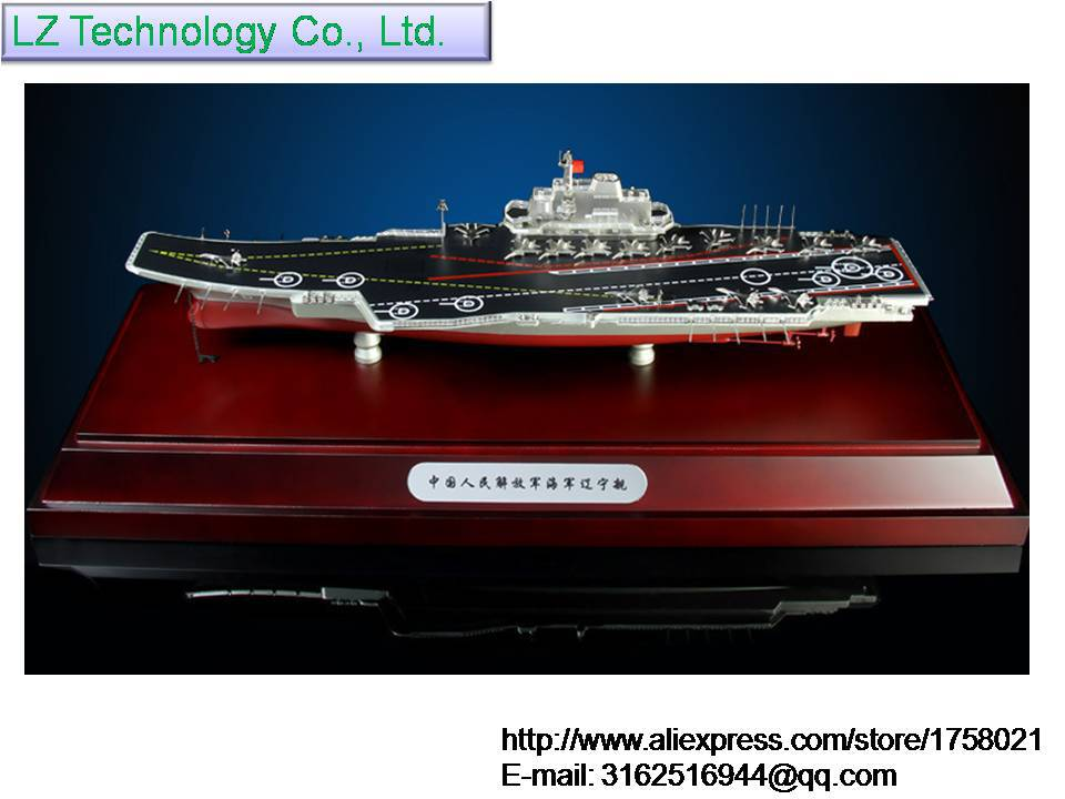 Free Shipping 1:700 Chinese aircraft carrier Liaoning alloy military static simulation model of large selling gift ornaments(China (Mainland))