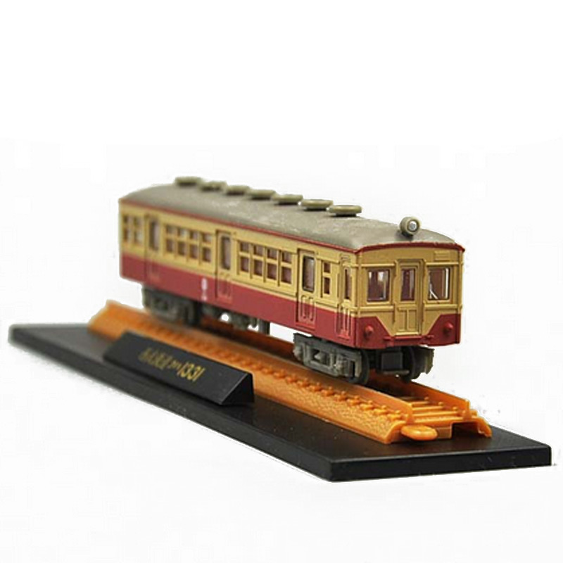 New 25cm Japanese Railway Track Coach Model Artificial PVC Action Figure Real Train Models Toy Collection with Opp Bags(China (Mainland))