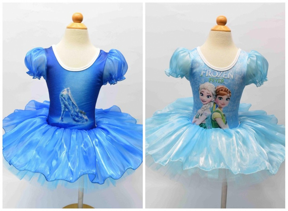 EMS DHL Free shipping 10 pcs/lot Toddler Girls Cinderella Elsa Style Party Holiday Halloween Dress Dance Wear Holiday Costume<br><br>Aliexpress