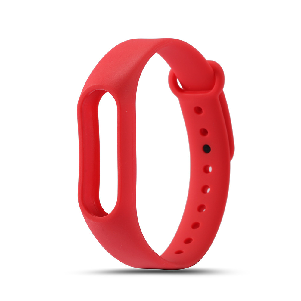 10PCS/Lot Colorful Replaceable Silicone Belt for Xiaomi Miband 2 Wristband Strap For Mi Band 2 Smart Bracelet Accessories