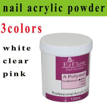 Hot sale!!!(3pcs/lot)Nail Art Acrylic Powder /Nail Acrylic Powder for artificial nails 3 color