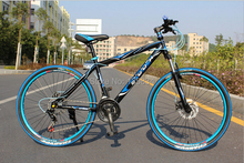 """Korean 2014 Brand New EXCIDER 24 Speed Mountain Bicycle Hight Quality Bicicleta 26""""  Mountain Bike Racing  Disck V Break Cycling(China (Mainland))"""