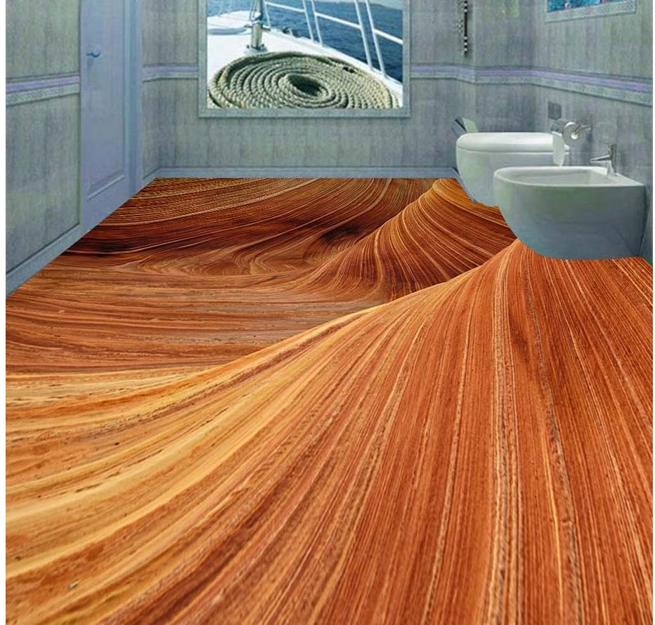 Buy 3d stereoscopic desert floor 3d for 3d wallpaper waterproof