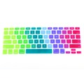 Colorful Silicone Keyboard Cover Keypad Skin Protector For Apple Macbook 11 13 15 Rainbow Laptop Keyboard