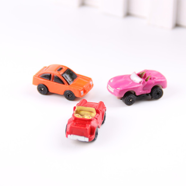 20pcs HOTCute Candy Color Toy Cars Best Christmas birthday Gift for Child Plastic Mini Car model kids toys for boys and girls