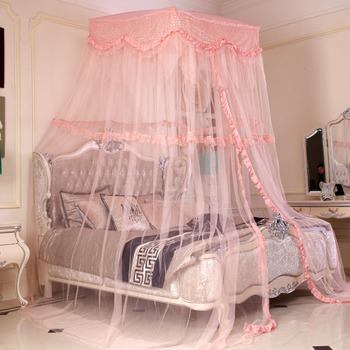 FREE SHIPPING! Royal dome lace princess mosquito net mosquito net ceiling