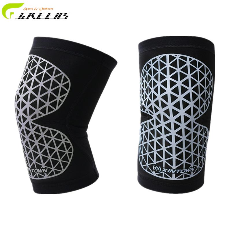 Sports Football Kneepad Volleyball Knee Pads Protector Basketball Elbow Protection Skating Protectors Ski/Snowboard/kinesio tape(China (Mainland))
