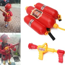 Buy Children Fireman Backpack Nozzle Water Gun Beach Outdoor Toy Extinguisher Soaker Hot for $6.95 in AliExpress store
