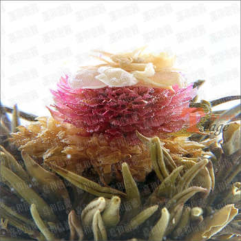 Premium Blooming Tea-quality jasmine tea, the Central Plains a little red, mixed batch minimum order 12, free shipping