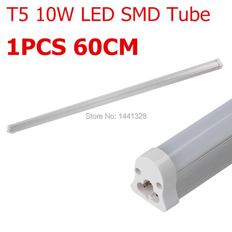 1PCS T5 10W CREE High Power LED Lampadas SMD 3528 Tube Umbrella Cold White Warm Light 60CM 0.6M AC90-264V 230V Lamp Super Bright(China (Mainland))