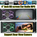 new support rear view camera 4 0 inch TFT HD screen car radio player USB SD