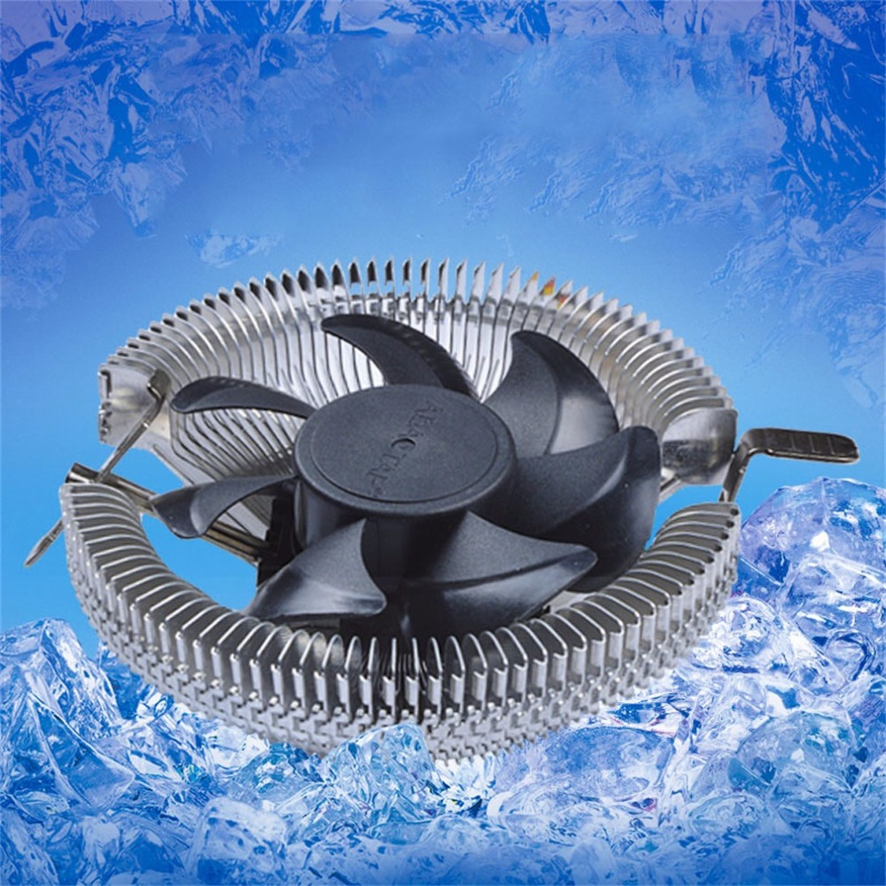 2016 New Ultra Queit Hydro 3PIN Fan CPU Cooler Heatsink for INTEL for AMD Z001(China (Mainland))