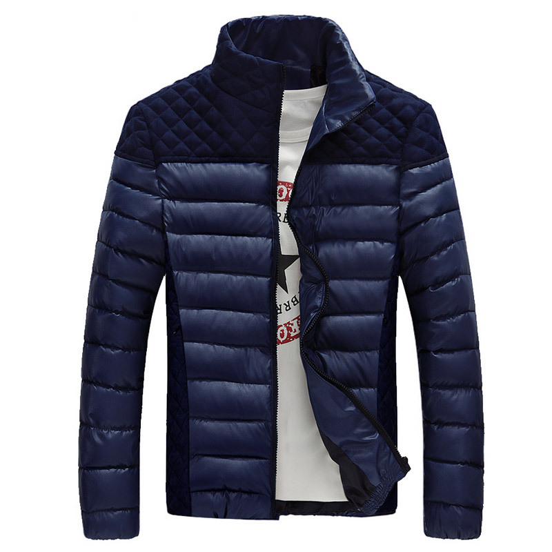 Man WARM Down Men pea Parkas Winter jacket COTTON PADDED ...