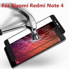 Buy Full Coverage Xiaomi Redmi Note 4 Case Tempered Glass Film 9H UltraThin Screen Protector Redmi Note 4 Pro 5.5inch for $2.47 in AliExpress store