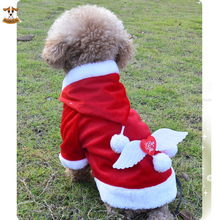 """Buy """"I Love You"""" Angel Wing Santa Dog Costume Christmas Pet Clothes Winter Hoodie Coat Festival Clothes Dogs Clothing Chihuahua for $6.29 in AliExpress store"""