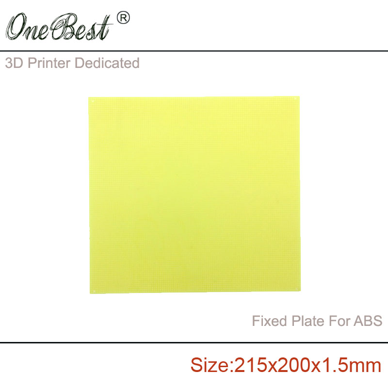 2017 Hotsale 3D printer ABS Special FR4 Porous Epoxy Board(Pegboard) 215x200x1.5mm Fixed Plate For ABS Supplies(China (Mainland))