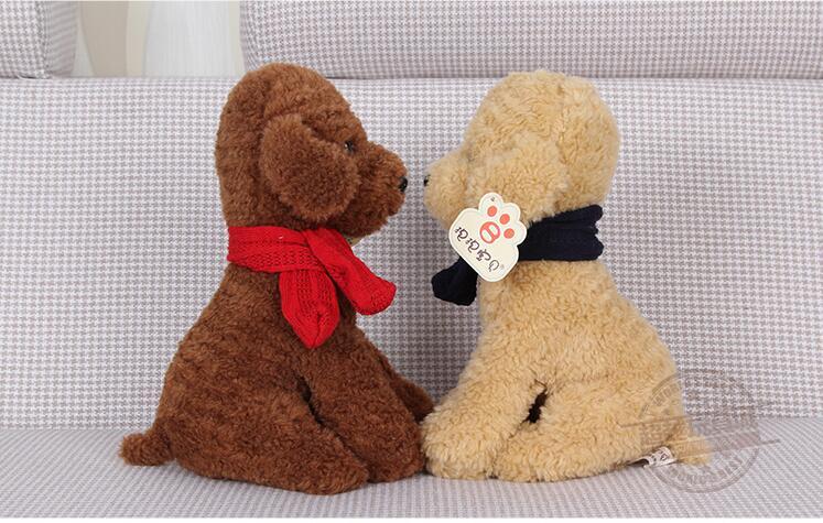 2016 New Teddy Papa Dog Animal Doll Hot Lovely Toy 30CM Birthday Gift CY-PPG(China (Mainland))