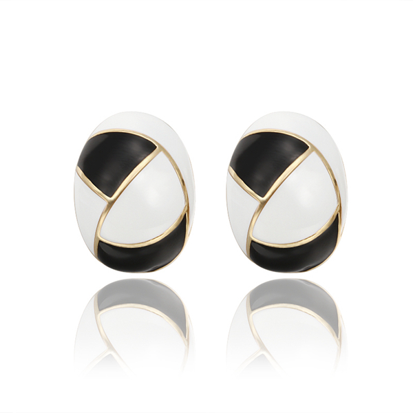Goose's Egg 18k Golden earings Jackets Ouro Princo New Fashion Jewelry gift box free(China (Mainland))