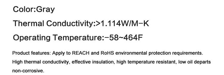 10 шт GD66 теплопроводная Смазка Вставить Кремниевая паста для светодиодный чип 1_02