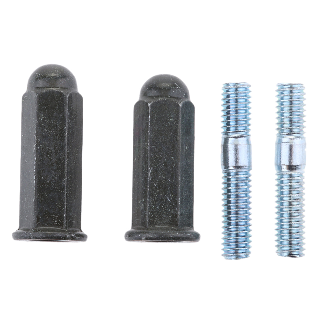 Pit Bike Exhaust Stud Nuts M6 Bolts Set For 110 125 140 160 200cc Pitbike High Quality Metal