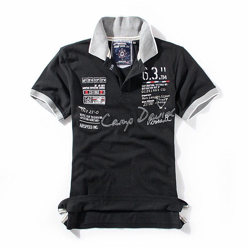 embroidery pouch picture more detailed picture about camp david men 39 s summer polos color block. Black Bedroom Furniture Sets. Home Design Ideas