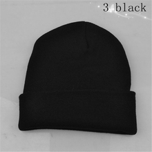 2016 Unisex Winter Warm Hat Caps Skullies Bonnet for Men and Women 6 Color Beanies Knit Outdoor Ski Cap Free Shipping
