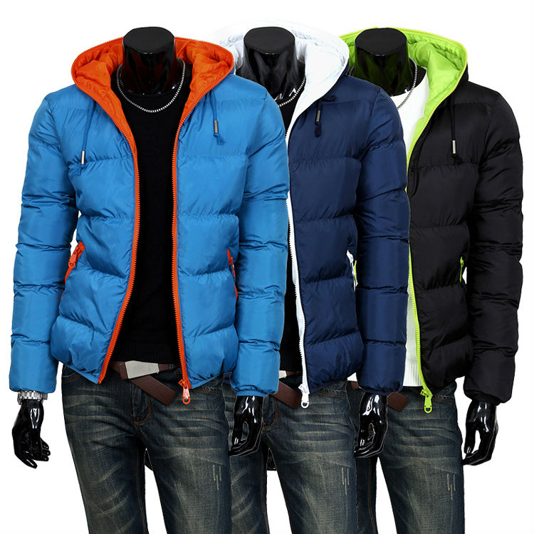 2015 mens winter jacket mens hooded wadded coat winter thickening outerwear male slim casual cotton-padded outwear MF-8534Одежда и ак�е��уары<br><br><br>Aliexpress
