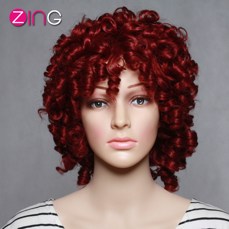Afro Kinky Synthetic Wigs 111