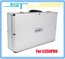 Drop shipping 5pcs/lot Original Walkera siliver Aluminum Case for X350PRO GPS FPV quadcopter QR X350 pro FPV updated ve toy gift