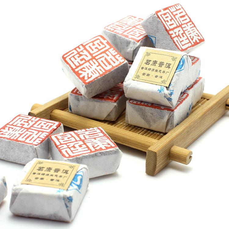 Premium Puerh Tea Puer Pu'er Taetea 500g 80-10Brick Loose Ripe Health Care Royal Chinese Ceremony Gift Loss Weight