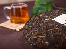 R Free Shipping Yunnan Big Leaves Puer Tea 2009 Yr Premium Raw Pu er Tea Cake
